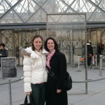 Corrie and Me in Front of the Louvre