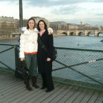 Corrie and me enjoying the Seine