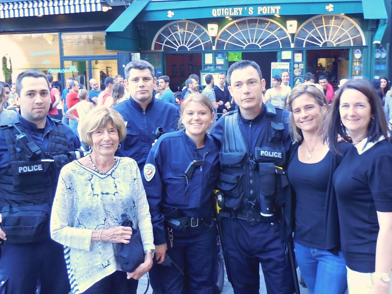Police Paris pompiers