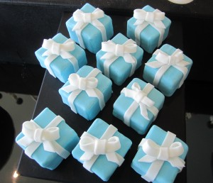 Tiffany's brownie boxes