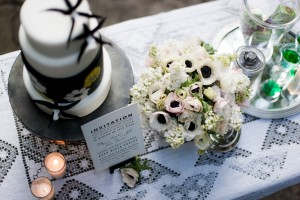 The devil is in the details for a wedding planner and the little touches like these sweet flowers make all the difference.