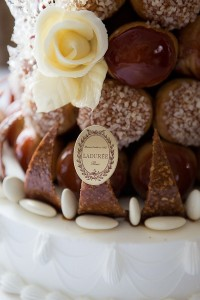 "Famous for their macaroons, Laudrée ""anything"" adds a touch of class to any wedding."