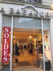 Step inside and find great luggage and handbags at terrific prices