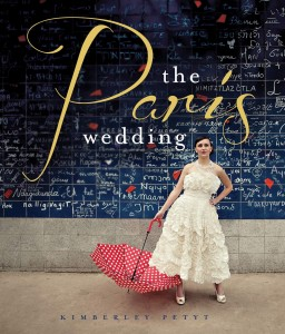 Love the red umbrella in the hands of this bride on the cover of Kim's book!