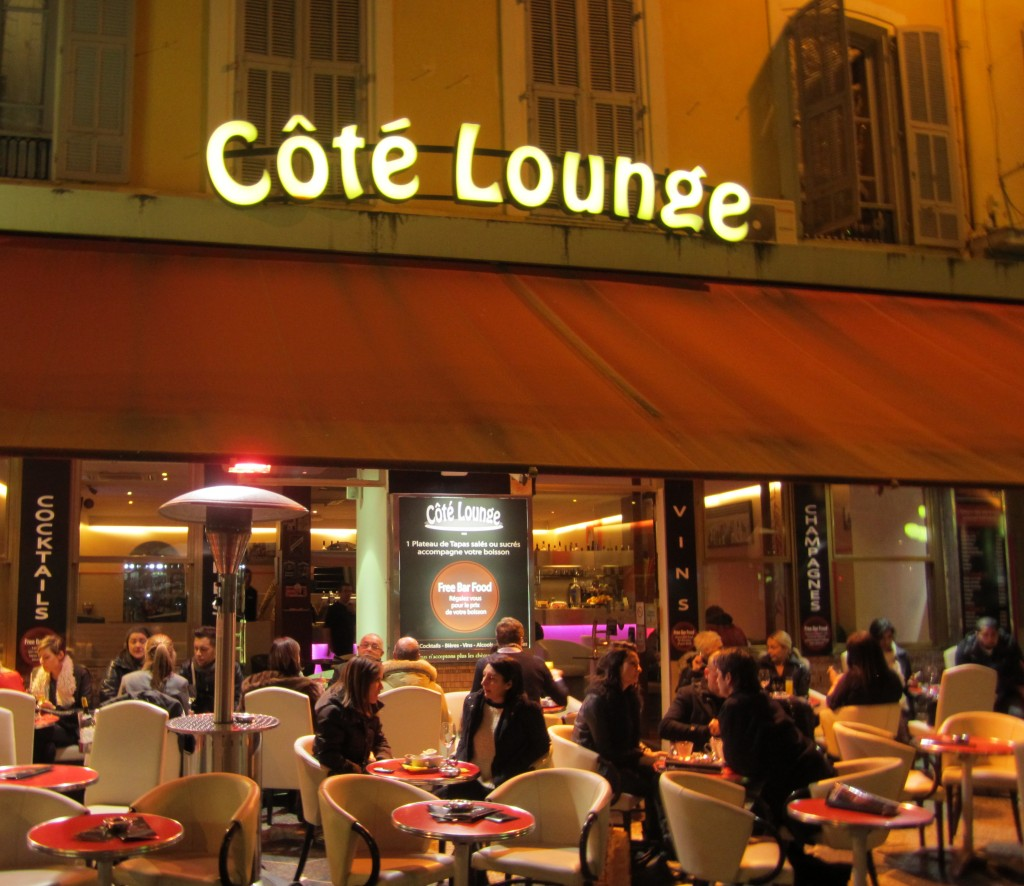 Côte Lounge in Nice, France
