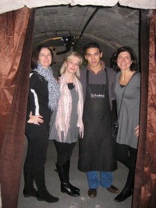Lionel and some of the Gal Pals after our wine tasting.