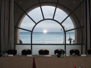 Palais meeting room view