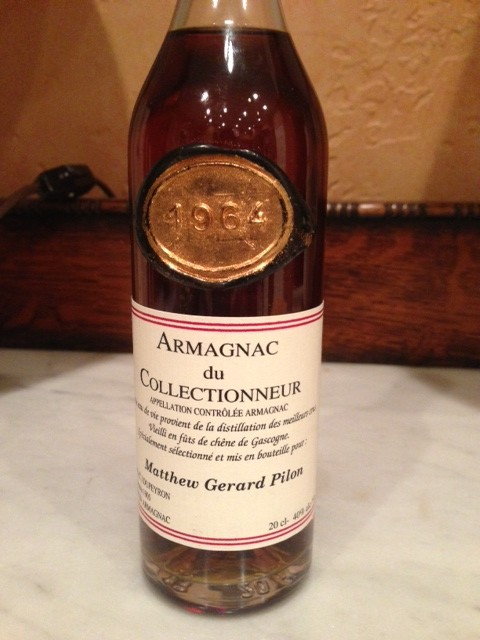 Personalized souvenir Armagnac from Paris