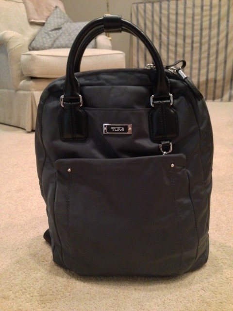 Tumi backpack for Paris