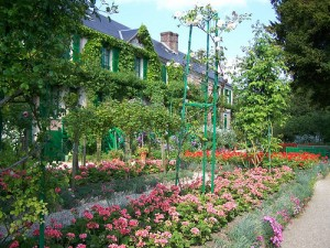 Monet's gardens.  Photo courtesy of Context Travel Paris.