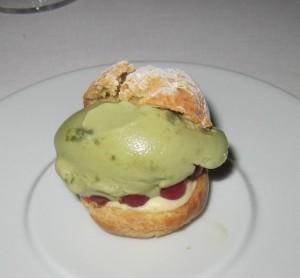 Chateau Eza 1st dessert