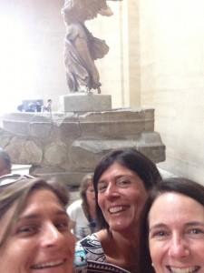 Selfie Venus Louvre