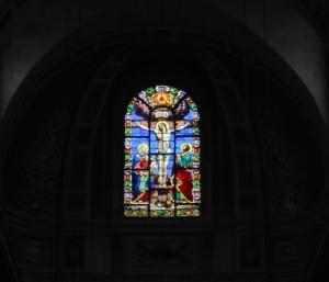 Saint-Louis-en-l'Île Church window