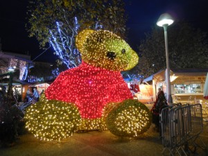 Christmas market in Cannes
