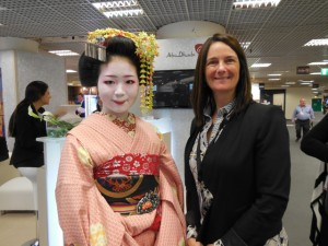 Japanese representative at the ILTM