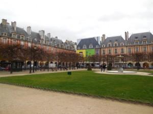 Park in the Marais