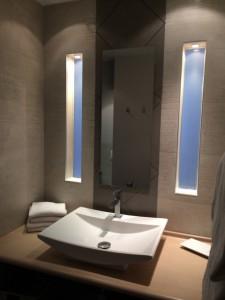 Modern bright lavatory