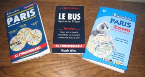 Navigating Paris by bus, metro and foot