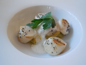 Scallops St. Jacques