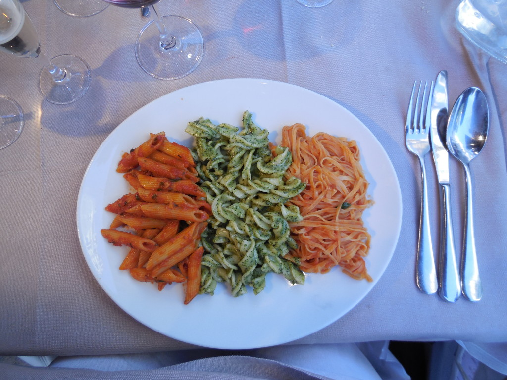 Pasta at Del Papa is sometimes just what the doctor ordered