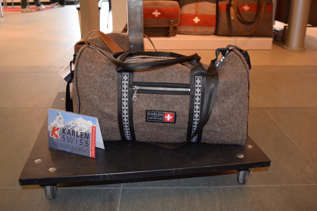 Karlen Swiss weekender bag