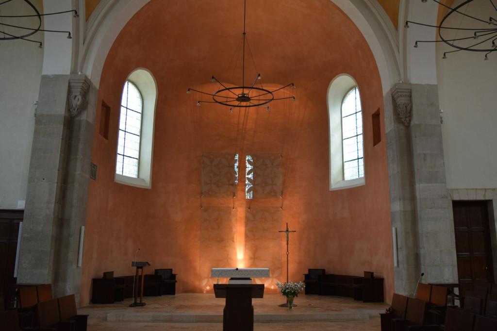 Inside the Abbaye