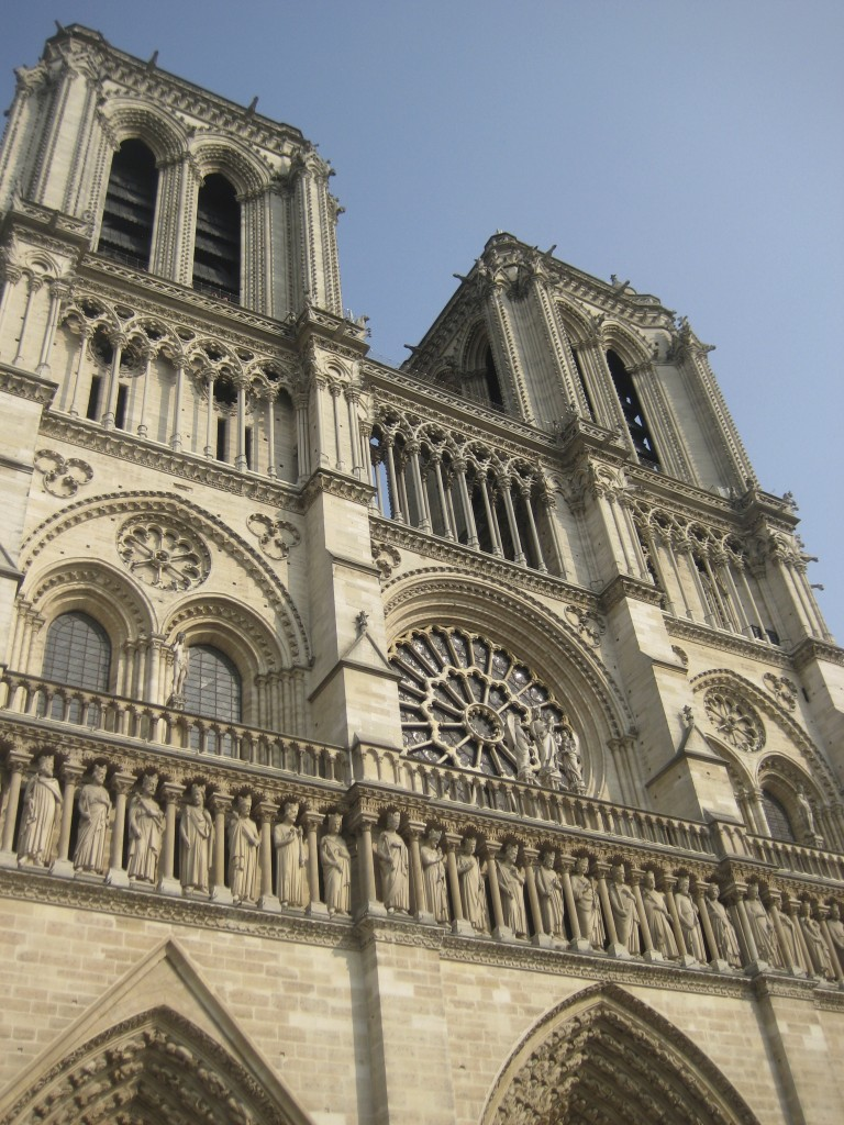 Notre Dame will be the scene for our marriage blessing