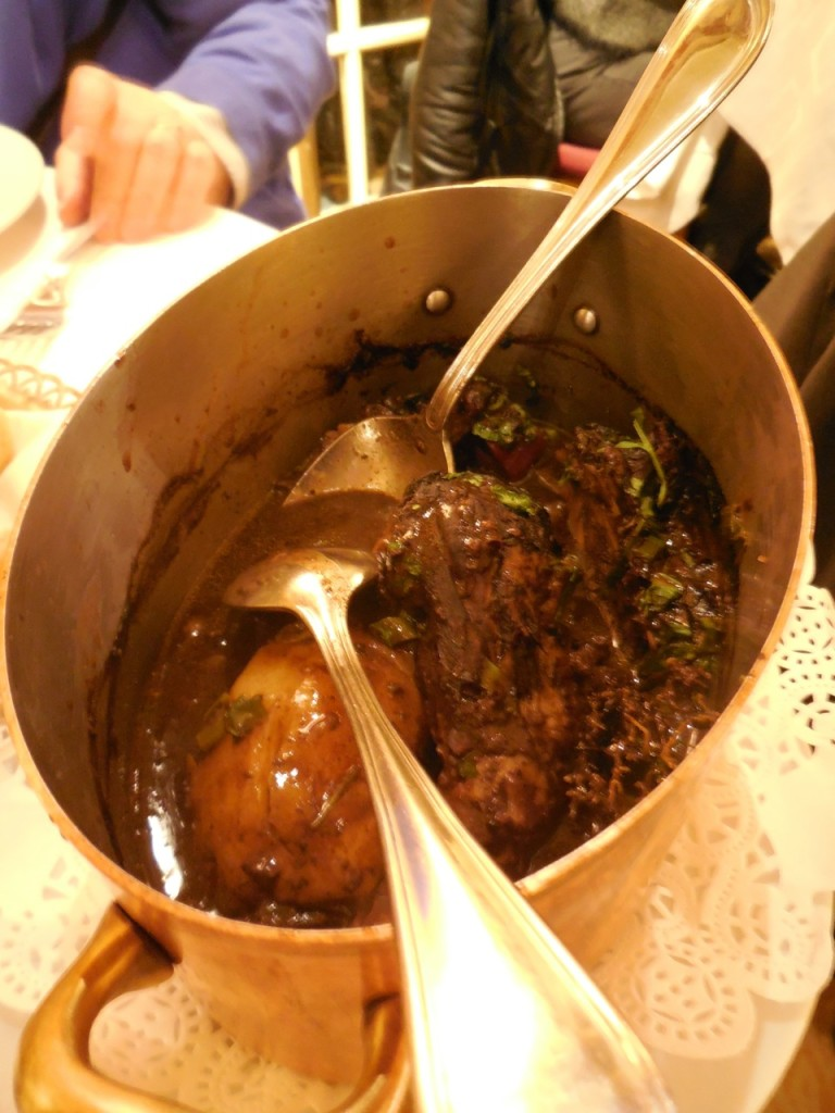 Disappointing coq au vin