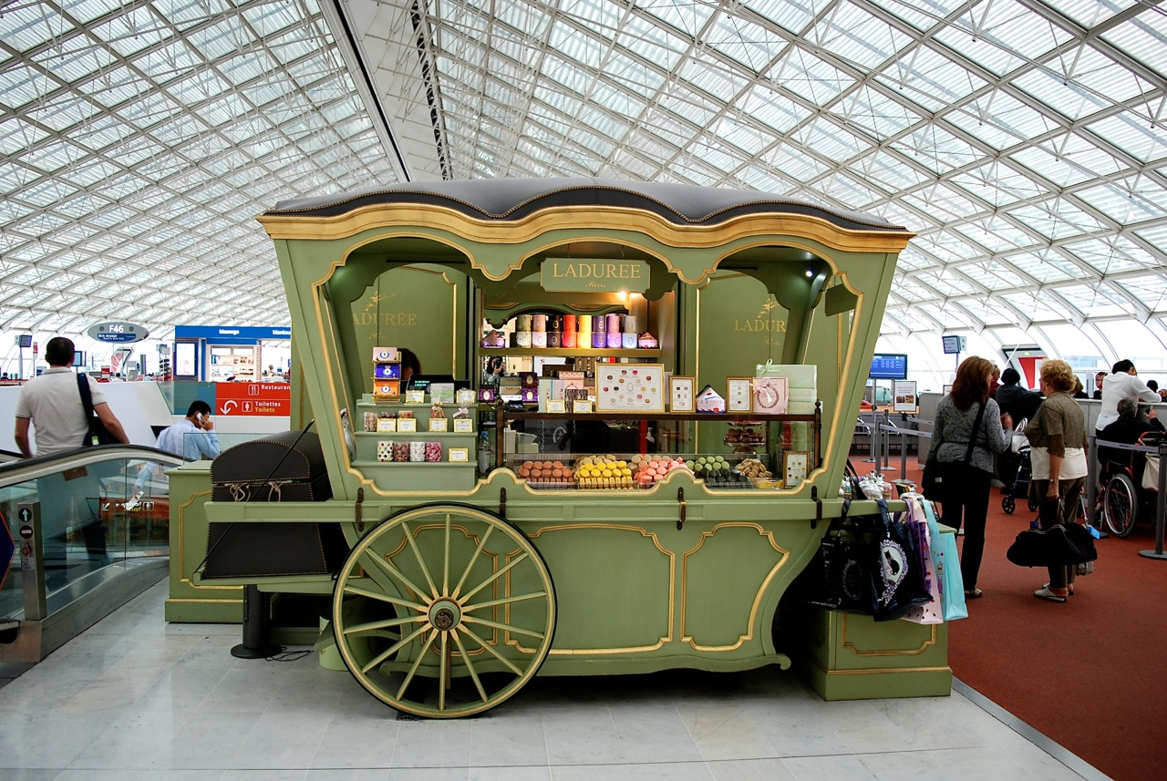 Weekend In Paris Duty Free Shopping At Cdg Airport Saves You Time Relay Terminal 3 Laduree