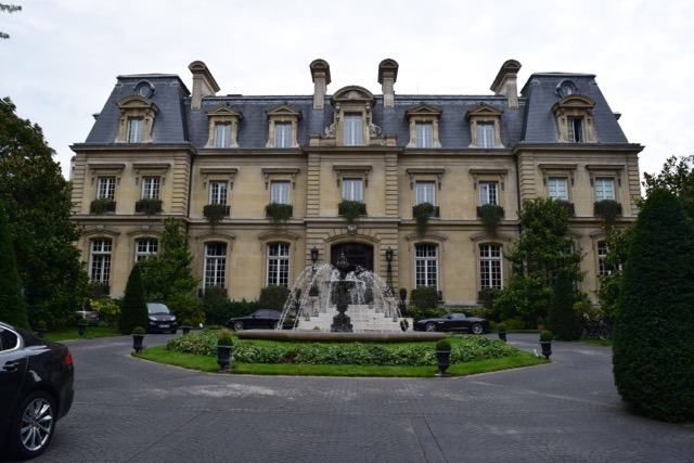Paris' only château hotel is beautiful inside and outside