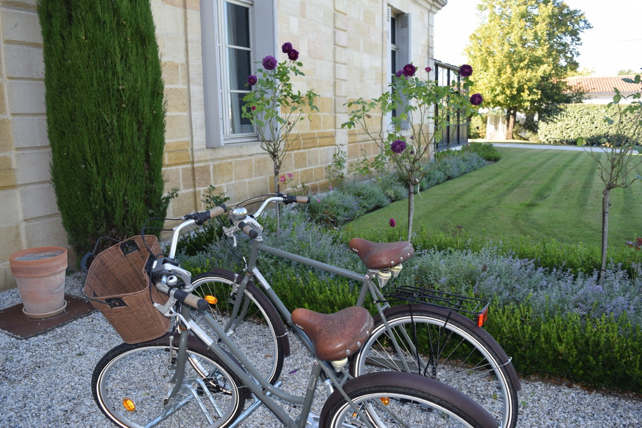 Riding bikes through wine country is a great way to see the area