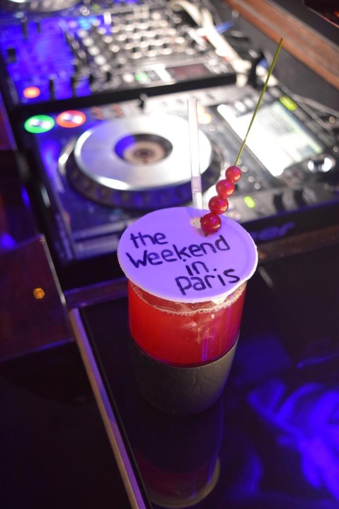 The Weekend In Paris Cocktail Paris Plaza Athénée