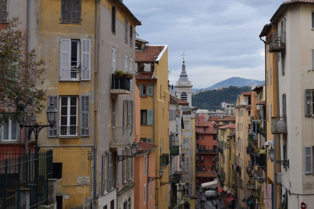 typical Nice street